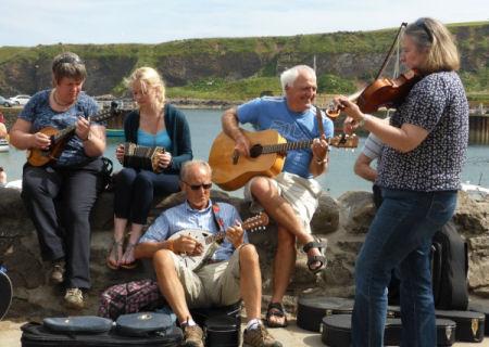 Muziek en Whisky in Schotland