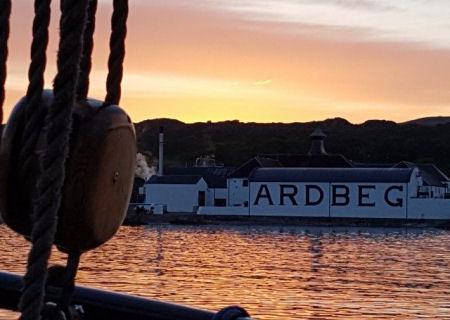 Sailing to Islay whisky festival